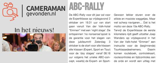 CameramanGevonden.nl in het nieuws – Auto Motor Klassiek